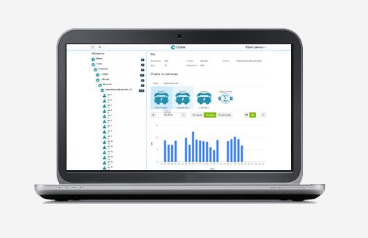 Веб-интерфейс АСКУЭ «СТРИЖ» для контроля и учета электроэнергии